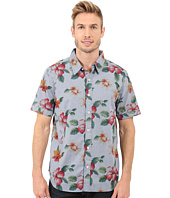 True Grit - Island Time Short Sleeve Shirt w/ Contrast