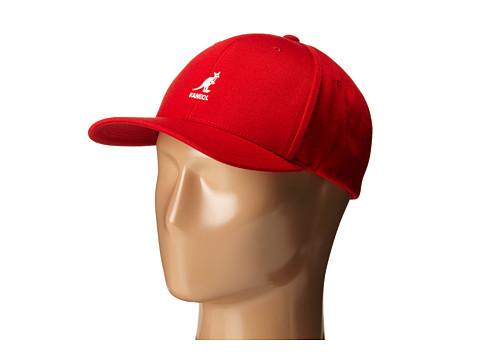 Kangol Wool Flex Fit Baseball - Rojo