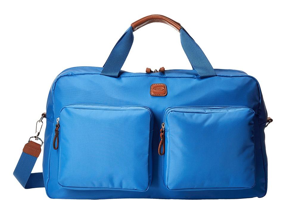Brics Milano Boarding Duffel w/ Pockets Cornflower Duffel Bags