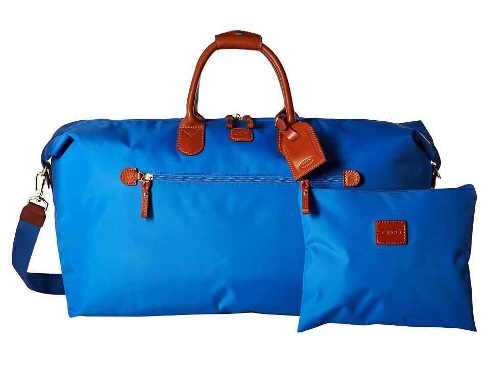 Brics Milano X Bag 22 Deluxe Duffel Cornflower Duffel Bags