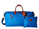 Bric's Milano X-Bag 22 Deluxe Duffel (Cornflower)