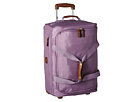 Bric's Milano X-Bag 21 Carry-On Rolling Duffle (Violet)
