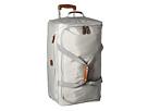 Bric's Milano X-Bag 28 Rolling Duffle (Pearl Grey)