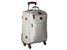 Bric's Milano X-Bag 21 Carry-On Spinner (Pearl Grey)