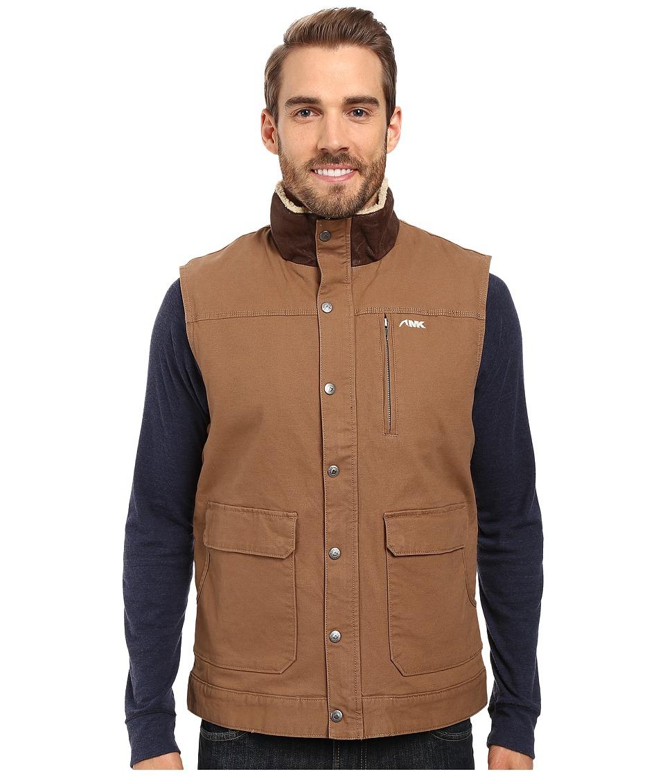 Mountain Khakis Ranch Shearling Vest (Tobacco) Men