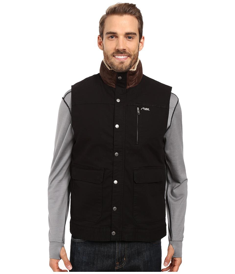 Mountain Khakis Ranch Shearling Vest (Black) Men