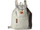 Bric's Milano X-Bag Backpack (Pearl Grey)