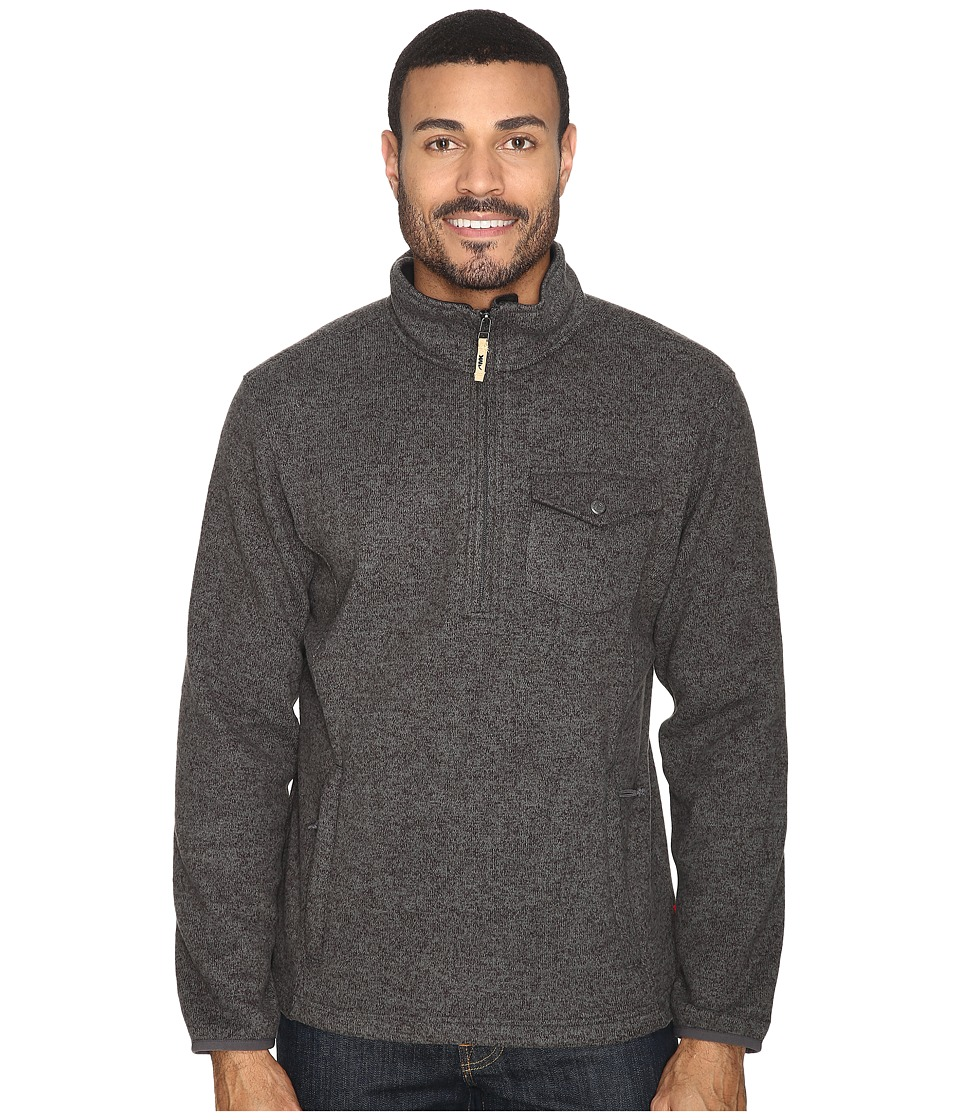 Mountain Khakis Old Faithful Qtr Zip Sweater (Charcoal) Men