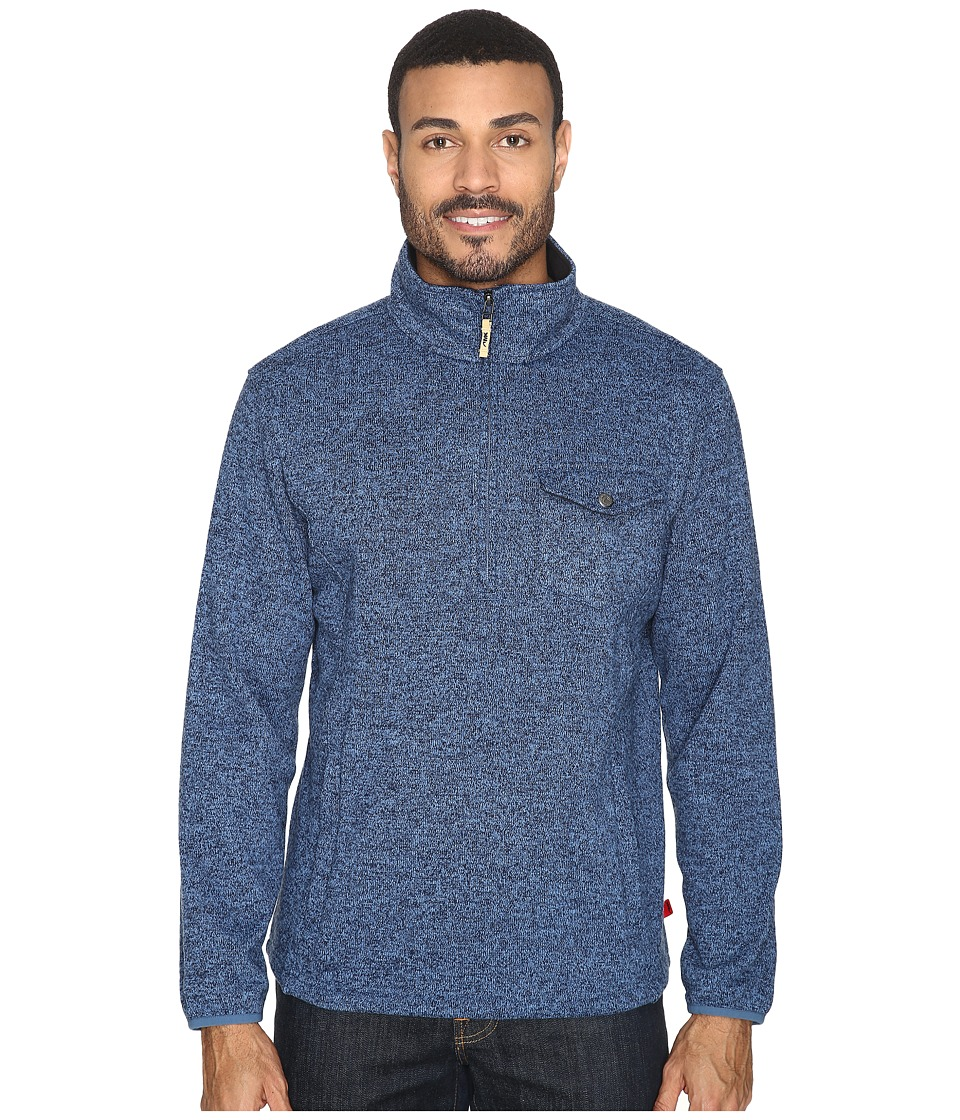 Mountain Khakis Old Faithful Qtr Zip Sweater (Moonlit) Men