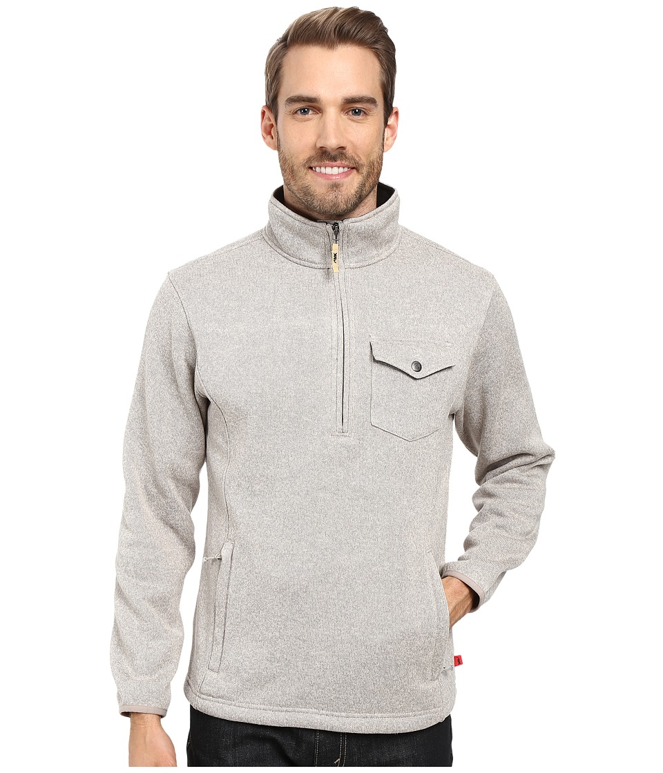 Mountain Khakis Old Faithful Qtr Zip Sweater (Oatmeal) Men