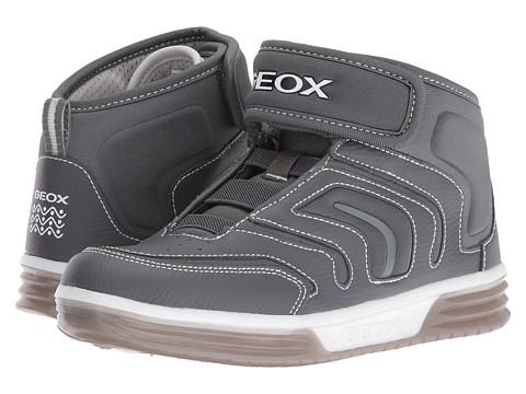 Geox Kids Jr Argonat Boy 6 (Big Kid) - Grey