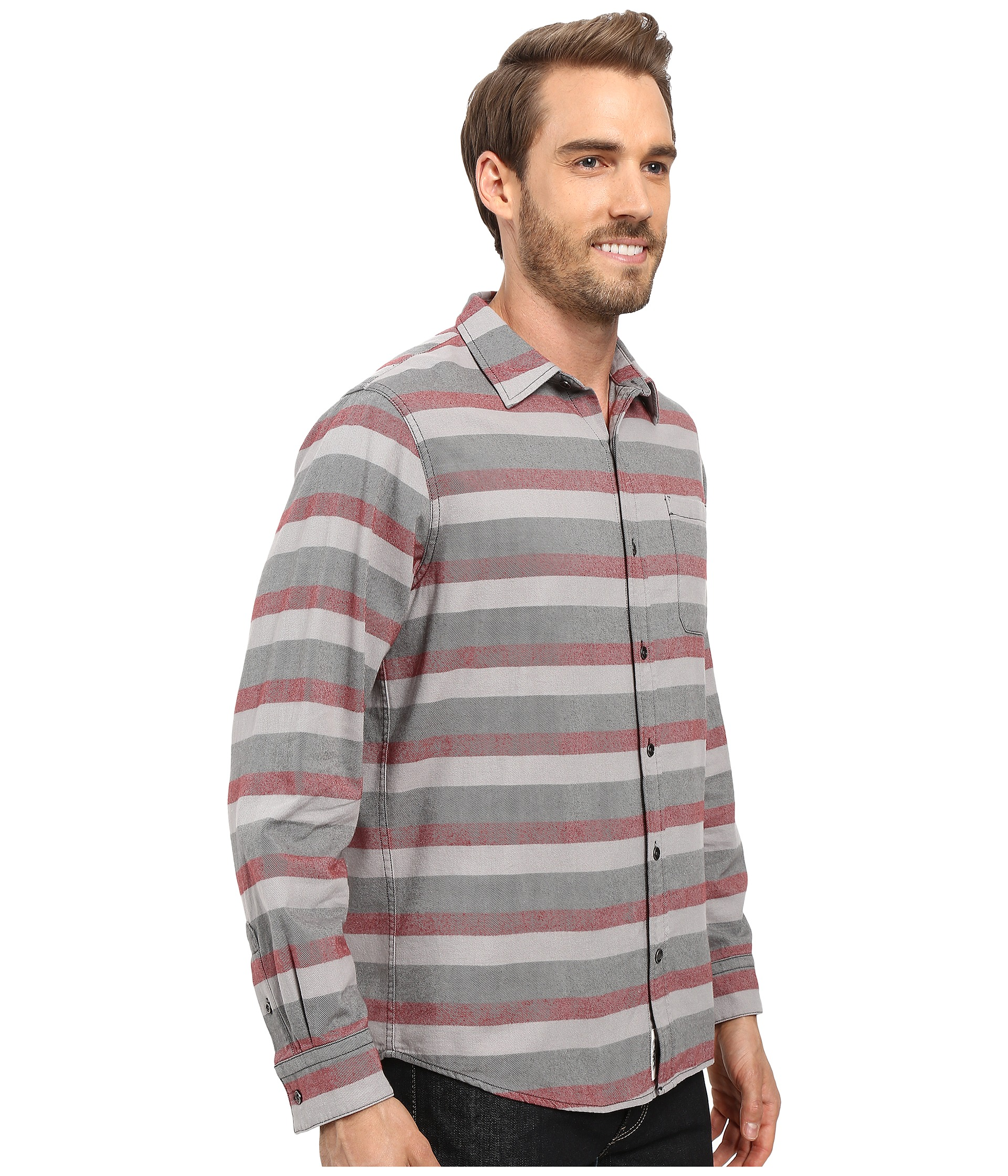 Mountain khakis fall line flannel shirt malbec zappos for Athletic cut flannel shirts