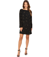 Versace Collection - Boat Neck Long Sleeves Dress