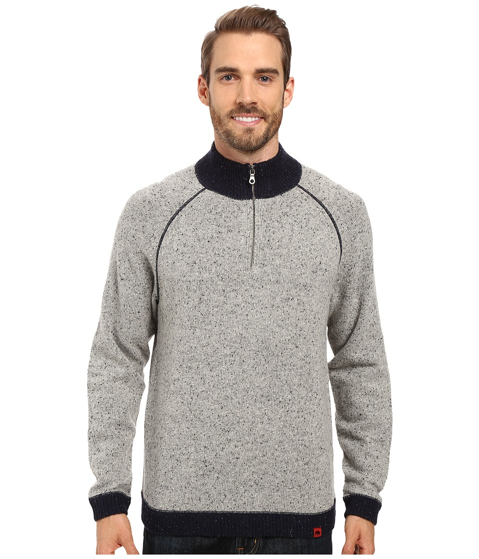 Mountain Khakis Fleck Qtr Zip Sweater (Lunar) Men