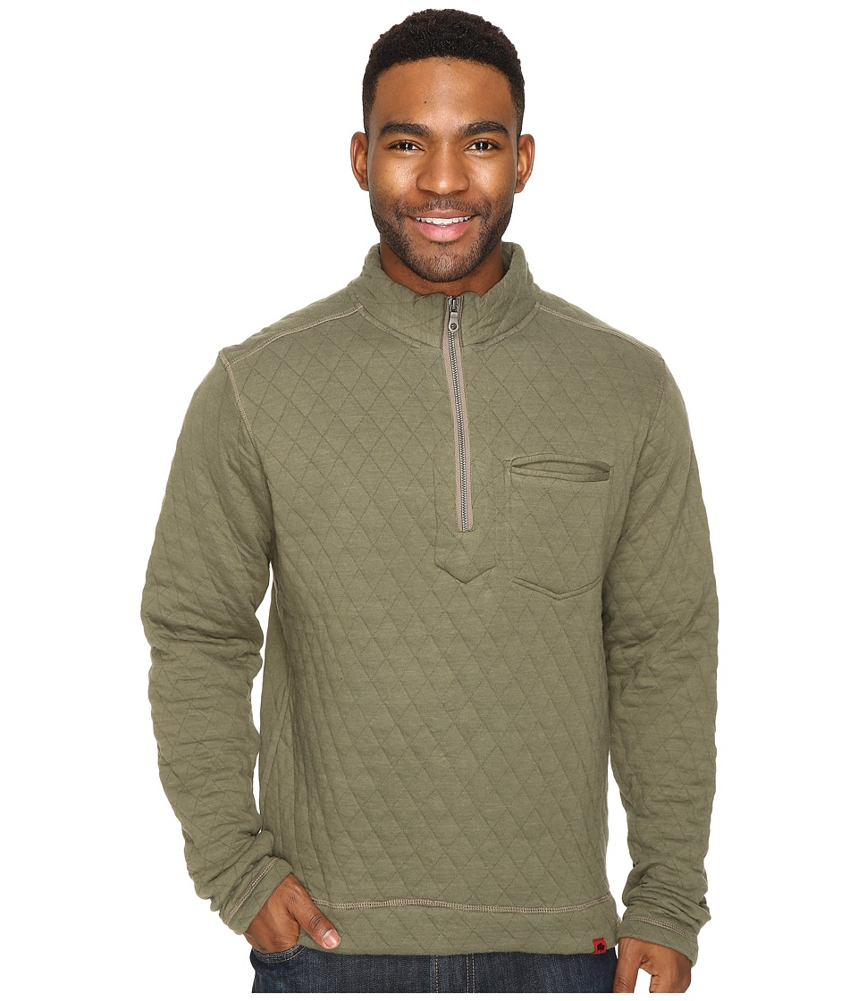 Mountain Khakis - Hideaway Pullover Sweater (Olive Drab) Men