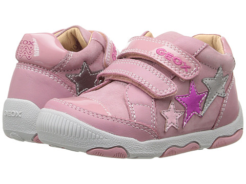 Geox Kids Baby New Balu Girl 3 (Infant/Toddler) - Pink/Multicolor