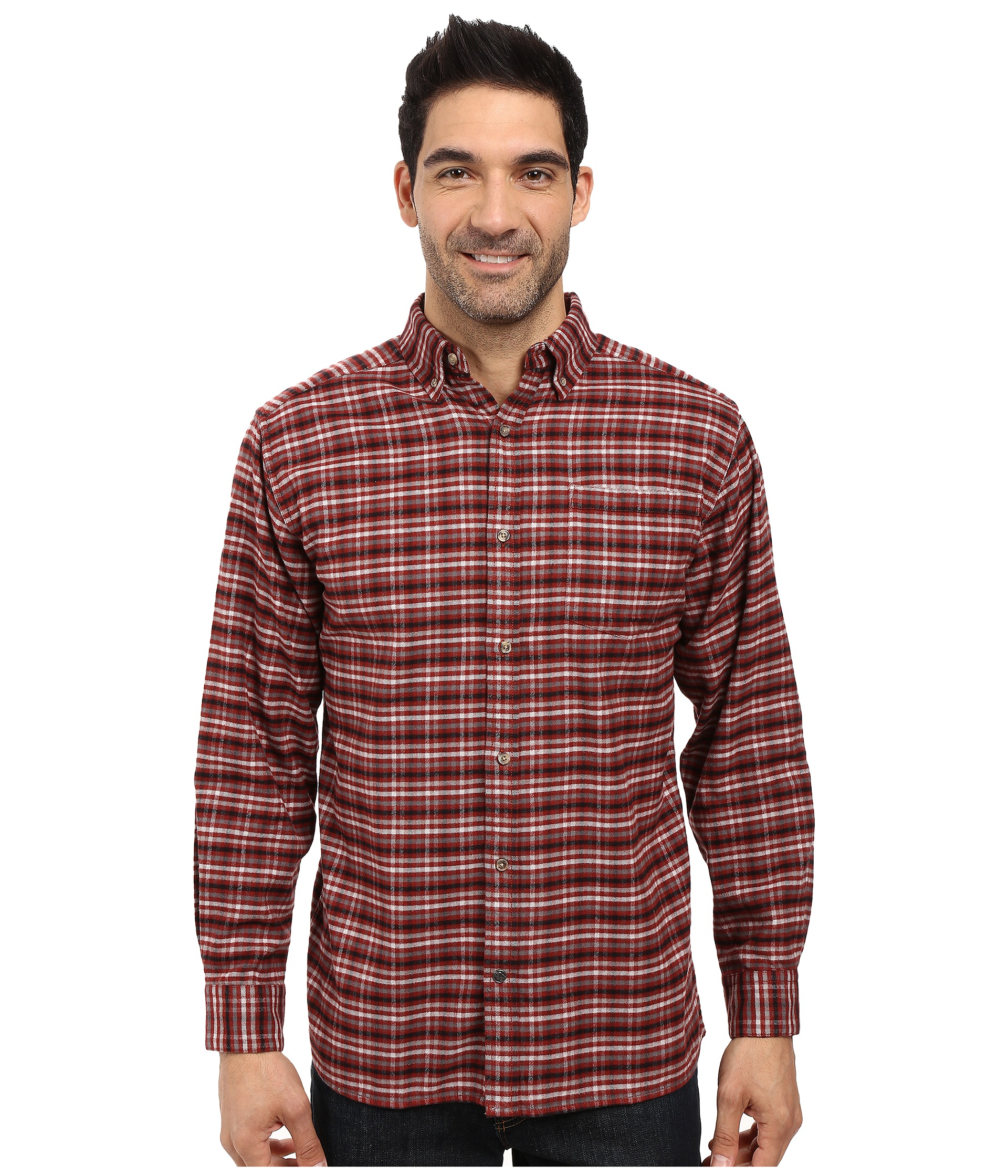 Mountain khakis downtown flannel shirt free for Athletic cut flannel shirts