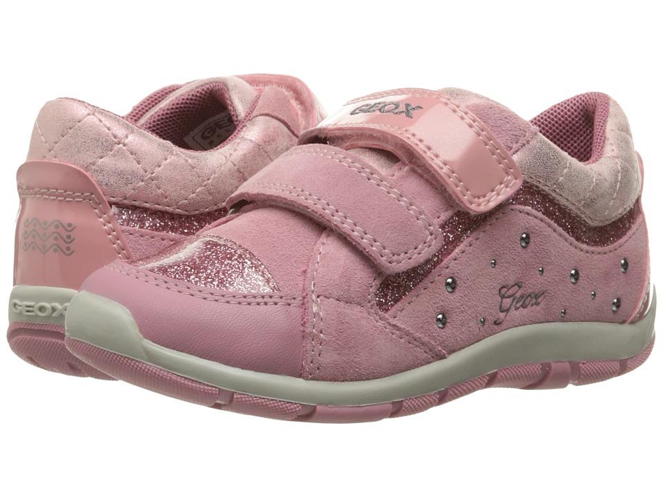 Geox Kids Baby Shaax Girl 14 (Toddler) (Dark Pink) Girl