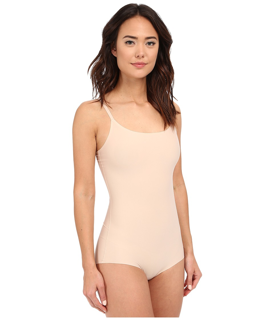 Spanx Thinstincts Bodysuit Soft Nude Womens Jumpsuit Rompers One Piece
