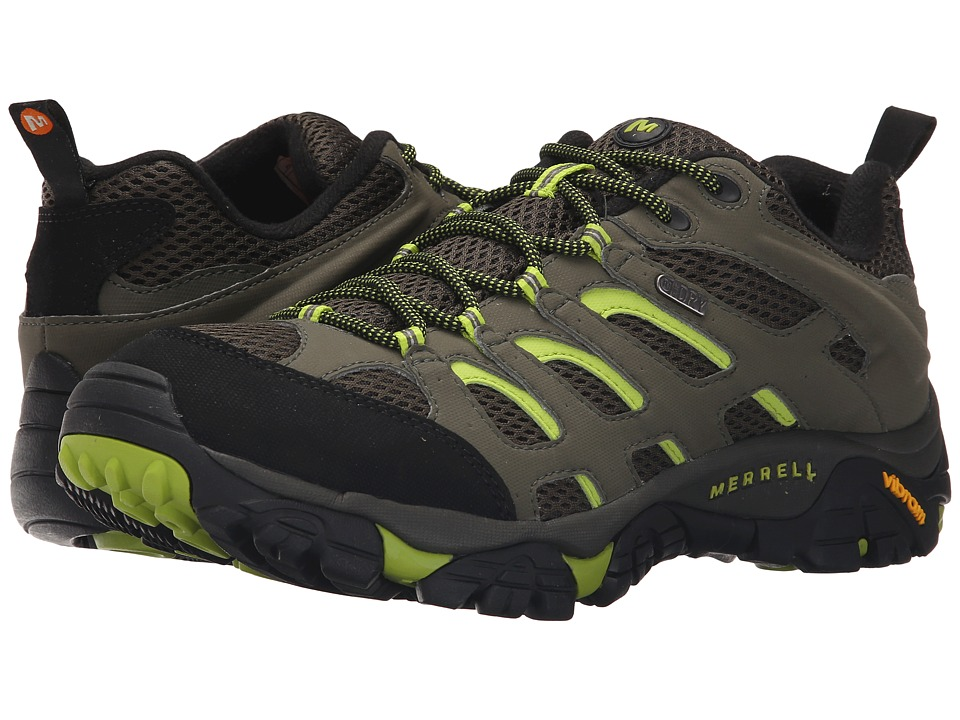 Merrell - Moab Waterproof (Dusty Olive/Black) Men