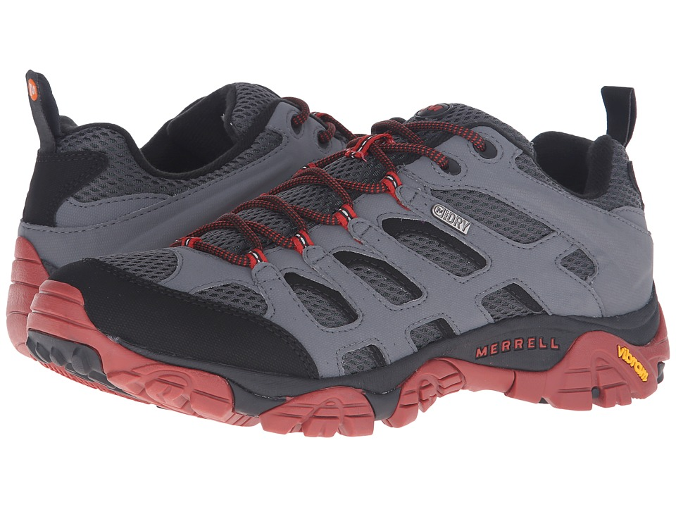 Merrell - Moab Waterproof (Castle Rock/Black) Men