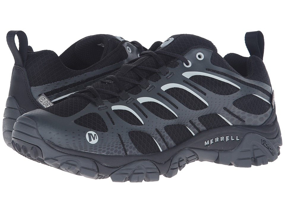Merrell Moab Edge Waterproof (Black) Men