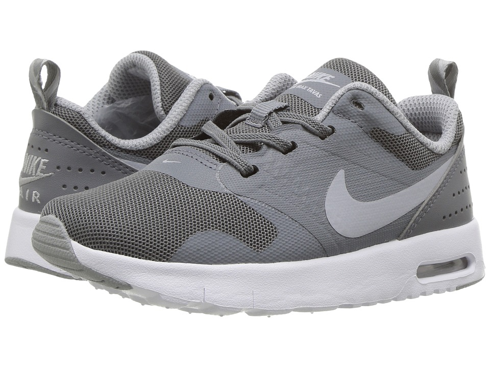 Nike Kids Air Max Tavas (Infant/Toddler) (Cool Grey/White/Wolf Grey) Boys Shoes