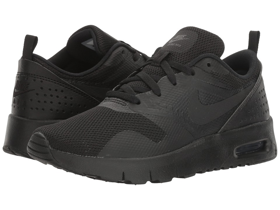 Nike Kids Air Max Tavas (Little Kid) (Black/Black) Boys Shoes