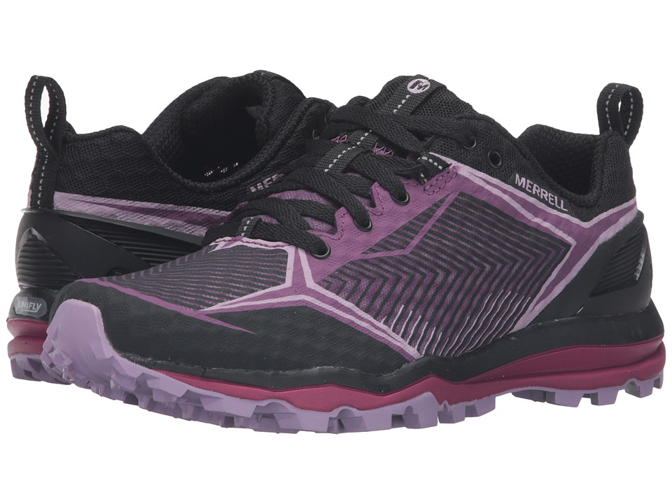 Merrell - All Out Crush Shield (Black/Purple) Women