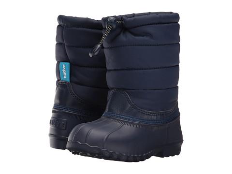 Native Kids Shoes Jimmy Puffy (Toddler/Little Kid) - Regatta Blue/Regatta Blue