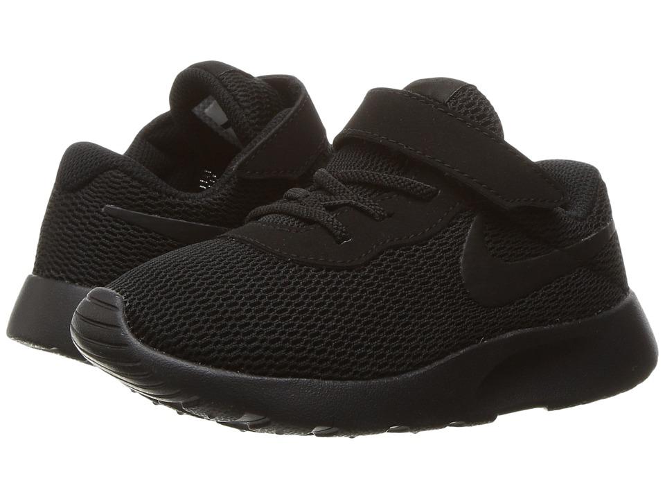 Nike Kids Tanjun (Infant/Toddler) (Black/Black) Boys Shoes