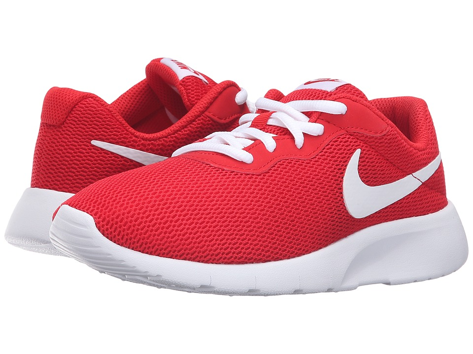 Nike Kids - Tanjun (Big Kid) (University Red/White) Boys Shoes