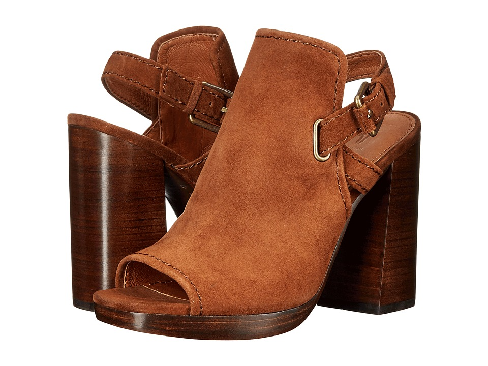 Frye - Karissa Shield Sling (Wood Suede) Women
