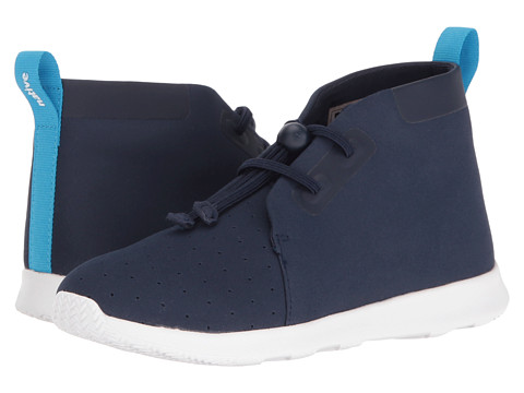 Native Kids Shoes AP Chukka (Little Kid) - Regatta Blue/Shell White