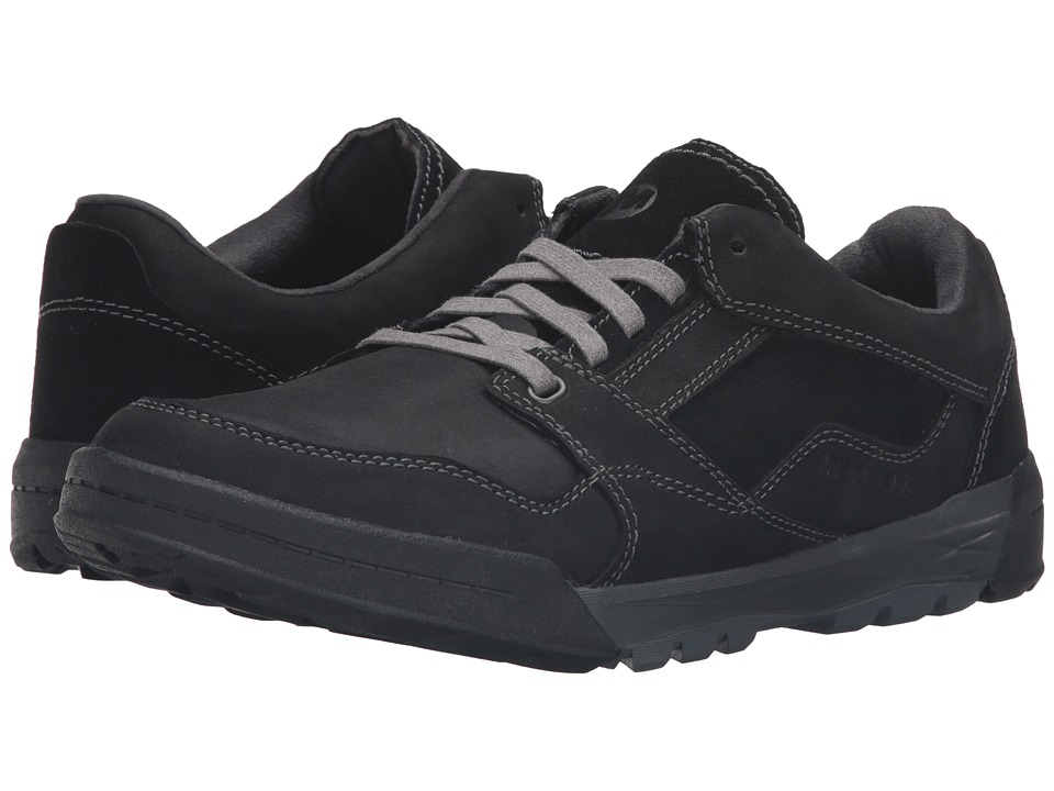 Merrell - Berner Lace (Black) Men's Lace up casual Shoes