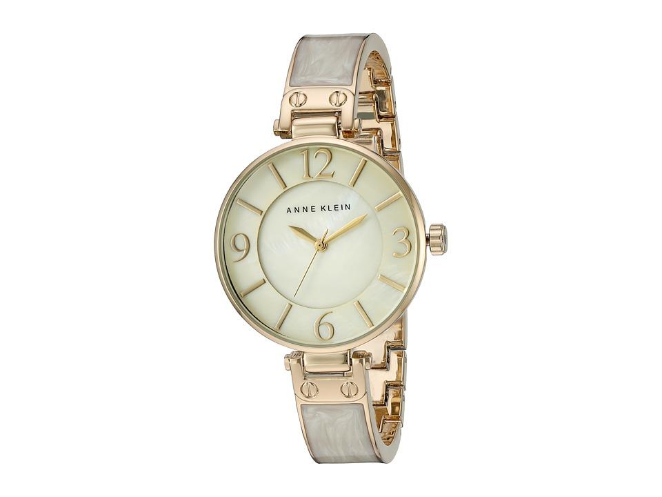 Anne Klein - AK-2210IMGB (Gold/Ivory) Watches