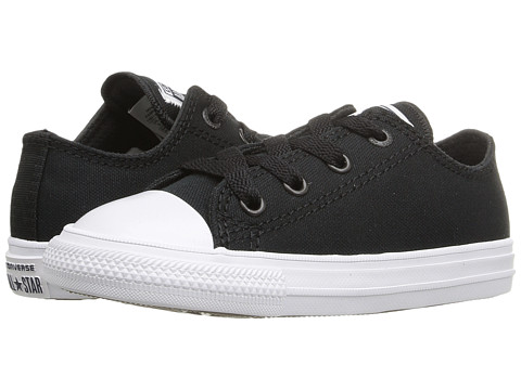 Converse Kids Chuck Taylor® All Star® II Ox (Infant/Toddler) - Black/White/Navy