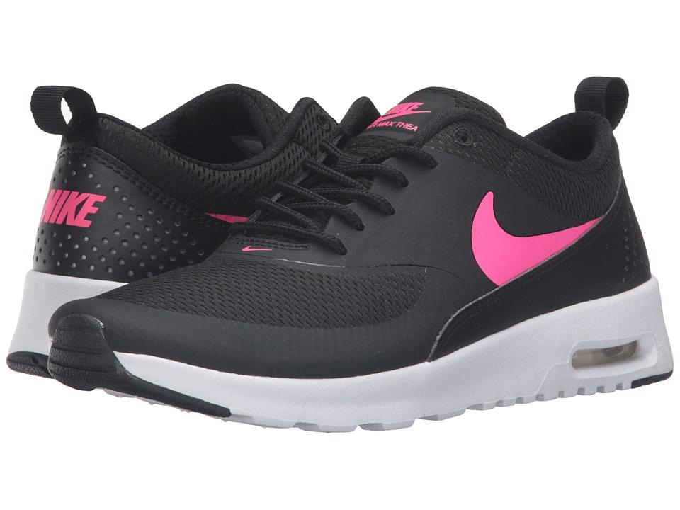 Nike Kids Air Max Thea (Big Kid) (Black/White/Hyper Pink) Girls Shoes