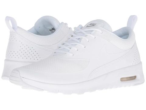 Nike Kids Air Max Thea (Big Kid) - White/Metallic Silver/White