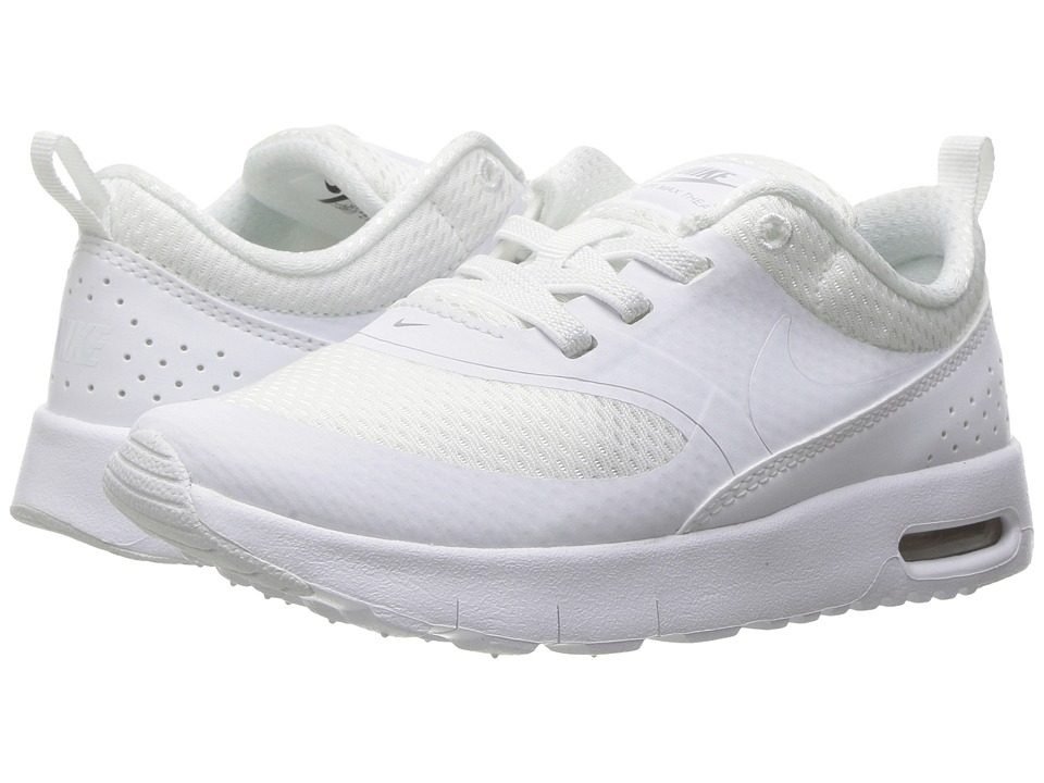 Nike Kids Air Max Thea (Infant/Toddler) (White/Metallic Silver/White) Girls Shoes