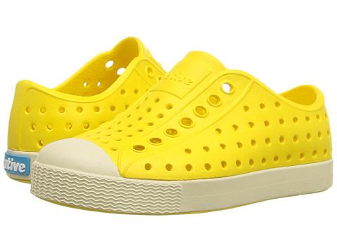 Native Kids Shoes Jefferson (Toddler/Little Kid) - Crayon Yellow/Bone White
