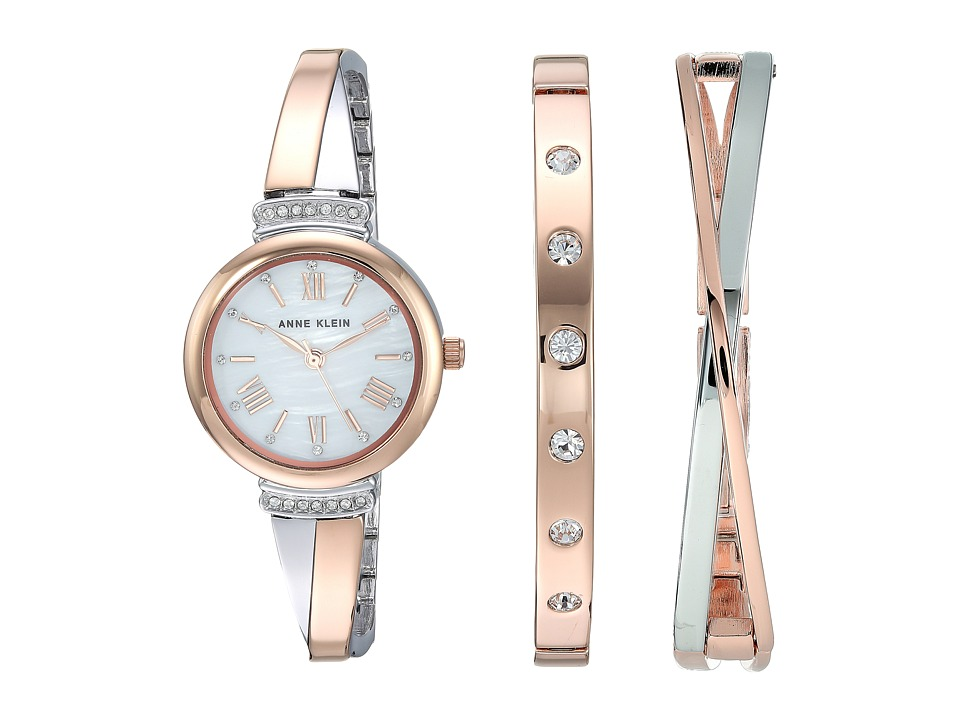 Anne Klein - AK-2245RTST (Rose Gold/Two-Tone) Watches