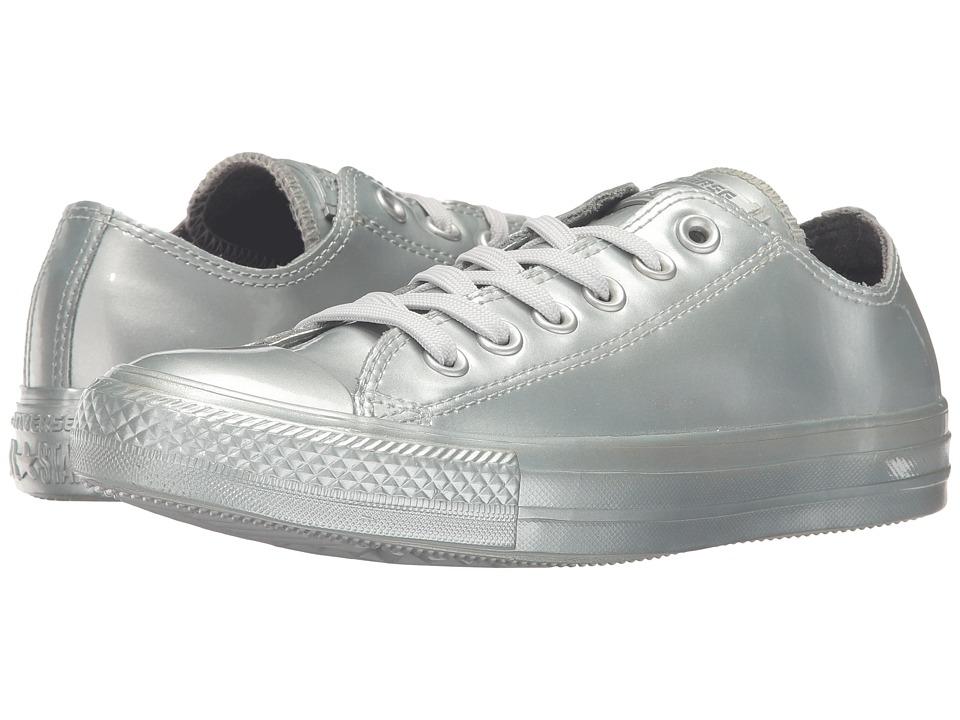 Converse - Chuck Taylor All Star Metallic Rubber Ox (Pure Silver/Pure Silver/Pure Silver) Women