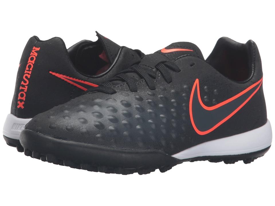 Nike Kids - Jr Magista Opus II TF (Toddler/Big Kid) (Black/Black) Kids Shoes