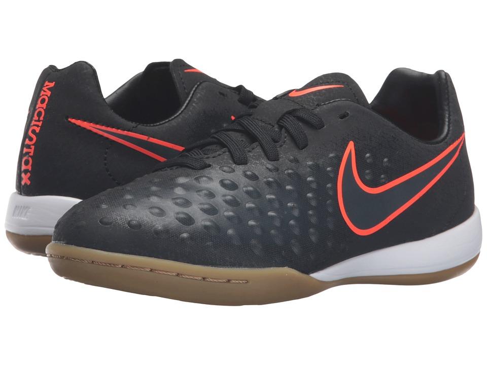 Nike Kids - Jr Magista Opus II IC (Toddler/Little Kid/Big Kid) (Black/Black) Kids Shoes
