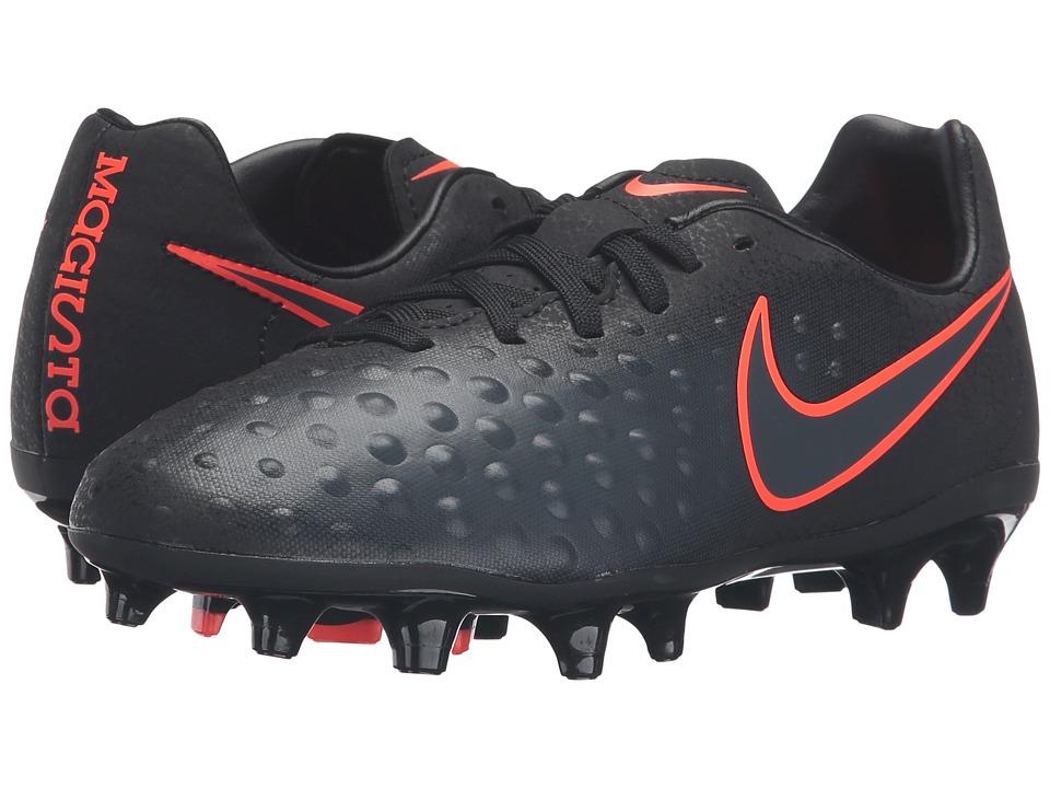 Nike Kids - Jr Magista Opus II FG Soccer (Toddler/Little Kid/Big Kid) (Black/Black) Kids Shoes