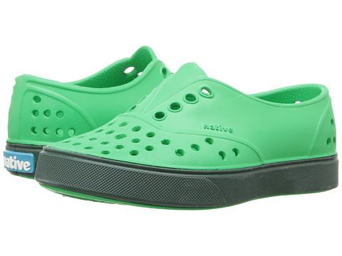 Native Kids Shoes Miller (Toddler/Little Kid) - Lantern Green/Spooky Green