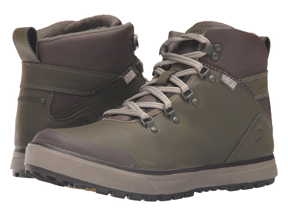 Merrell Turku Trek Waterproof (Dusty Olive) Men