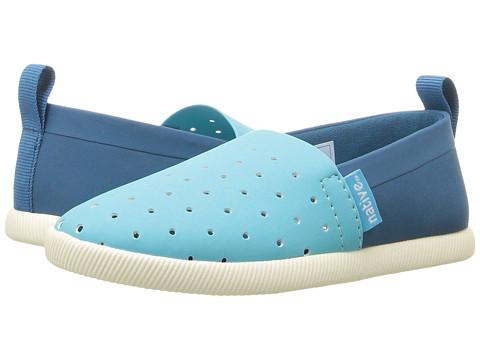 Native Kids Shoes Venice (Toddler/Little Kid) - Saba Blue/Midnight Blue/Bone White/Two-Tone