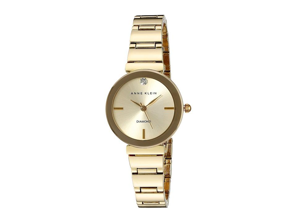 Anne Klein - AK-2434CHGB (Gold) Watches